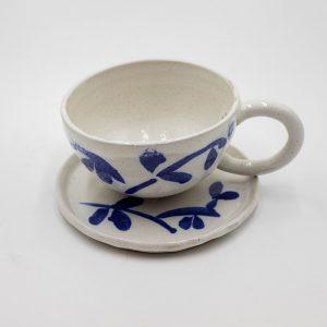 Bộ cốc gốm nghệ thuật Trúc Thạch - trang trí nội thất cao cấp