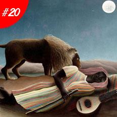 Kiệt Tác Nghệ Thuật Thế Giới - The Sleeping Gypsy