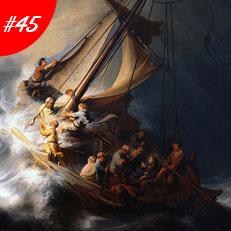 Kiệt Tác Nghệ Thuật Thế Giới - The Storm On The Sea Of Galilee