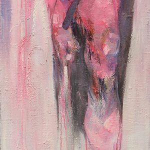 tranh sơn dầu người phụ nữ 03 - Đăng Vũ Hà