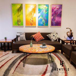 bàn trà nghệ thuật cho phòng khách giá cả hợp lý