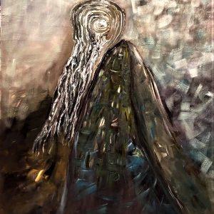 Đạo Sư Tuệ - Tranh Acrylic Trên Toan Đẹp Của Họa Sĩ Trinh Thắng