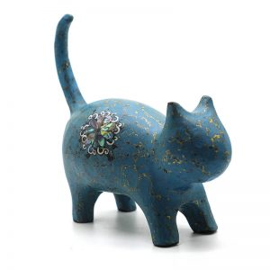 Ngọc Miêu - Tượng Sơn Mài Cao Cấp Con Mèo Của Họa Sĩ Nguyễn Tấn Phát