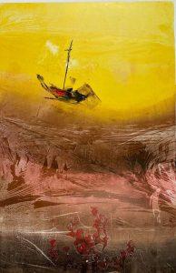 tác phẩm nghệ thuật - họa sĩ Nguyễn Thu Thủy