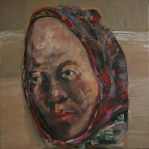 tranh chân dung đẹp tranh sơn dầu nghệ thuật treo phòng khách chung cư sang trọng chân dung 2