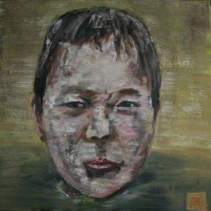 tranh chân dung nghệ thuật tranh sơn dầu phòng khách trang trí chung cư chân dung 4