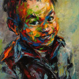 tranh chân dung nghệ thuật tranh treo tường phòng khách chung cư công ty phòng làm việc chân dung 27