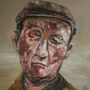 tranh chân dung sơn dầu đẹp tranh phòng khách treo chung cư khỏa thân 7