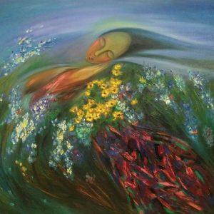 tranh nghệ thuật giấc mơ mùa xuân