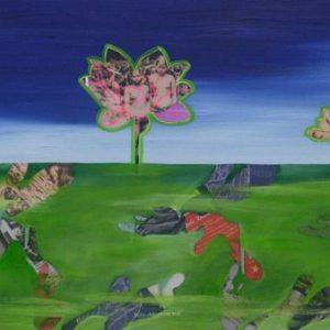 tranh nghệ thuật hoa sen nguyễn thế hùng