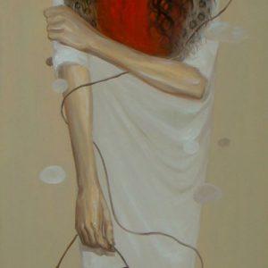 tranh nghệ thuật sơn dầu tranh phòng khách chung cư văn phòng biệt thự treo sảnh đẹp ma nơ canh II
