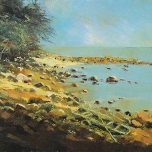 tranh phong cảnh đẹp tranh sơn dầu nghệ thuật treo tường phòng khách chung cư sang trọng trang trí khách sạn biệt thự văn phòng lạc trên hoang đảo
