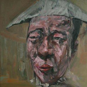 tranh sơn dầu chân dung nghệ thuật tranh treo phòng khách sang trọng chung cư đẹp chân dung 6
