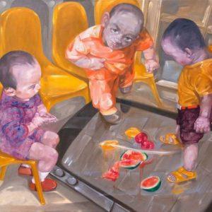 tranh sơn dầu hiện đại sành điệu
