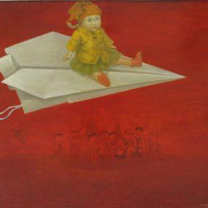 tranh sơn dầu nghệ thuật kỷ nguyên số 1