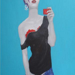 tranh thiếu nữ nghệ thuật tranh tường phòng khách đẹp tranh treo chung cư hiện đại thế hệ trẻ