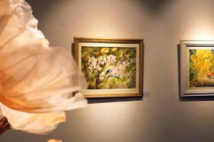 triển lãm tranh màu nước tranquille tại nguyen art gallery 2