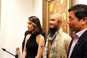 triển lãm vô hoạ sĩ trịnh thắng tại nguyen art gallery 10