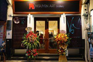 triển lãm vô hoạ sĩ trịnh thắng tại nguyen art gallery