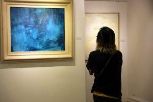 triển lãm vô hoạ sĩ trịnh thắng tại nguyen art gallery 8