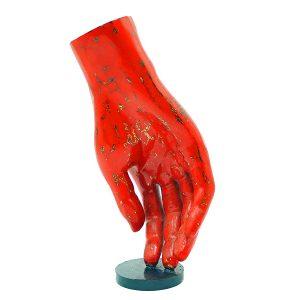 tượng sơn mài trang trí bàn tay