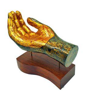 tượng sơn mài trang trí bàn tay II